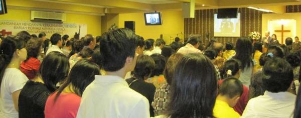 Ibadah Raya II, 11 Juni 2010